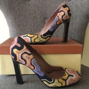 New Missoni heels pumps shoes US 8.5 IT 39